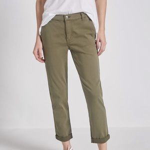 Current/Elliot army green cotton pants